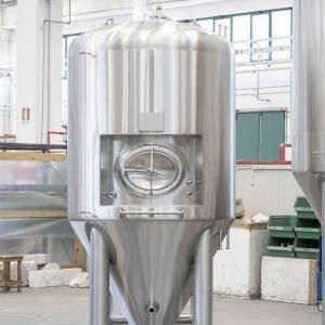 Serbatoi di stoccaggio per la produzione di birra