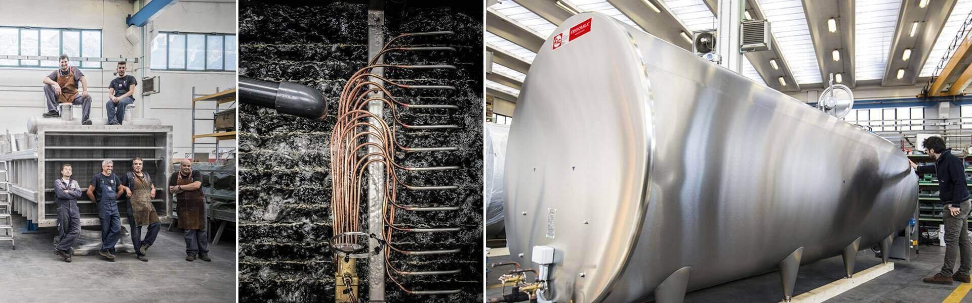 Progettazione e produzione di apparecchiature per lo scambio termico