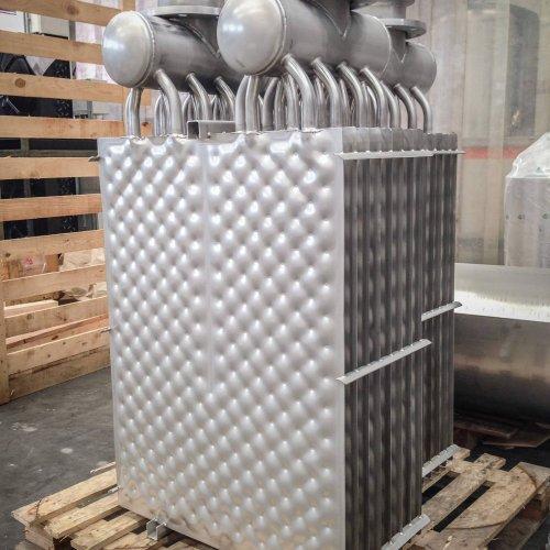 Batterie di piastre per il recupero del calore