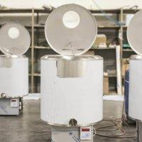 Refrigeratore per l'industria lattiero-casearia