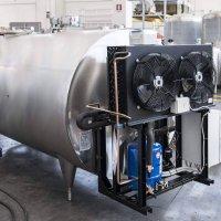 Unità frigorifere per l'industria lattiero casearia