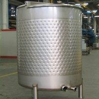 Serbatoi in acciaio per il trattamento dei fluidi