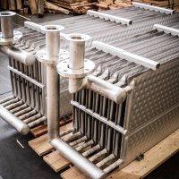 Batterie di piastre per lo scambio termico