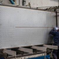 Batterie di piastre per l'industria galvanica